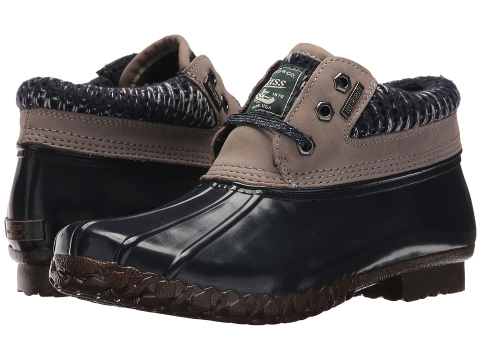 G.H. Bass & Co. Dorothy (Grey/Navy Leather/Textile) Women
