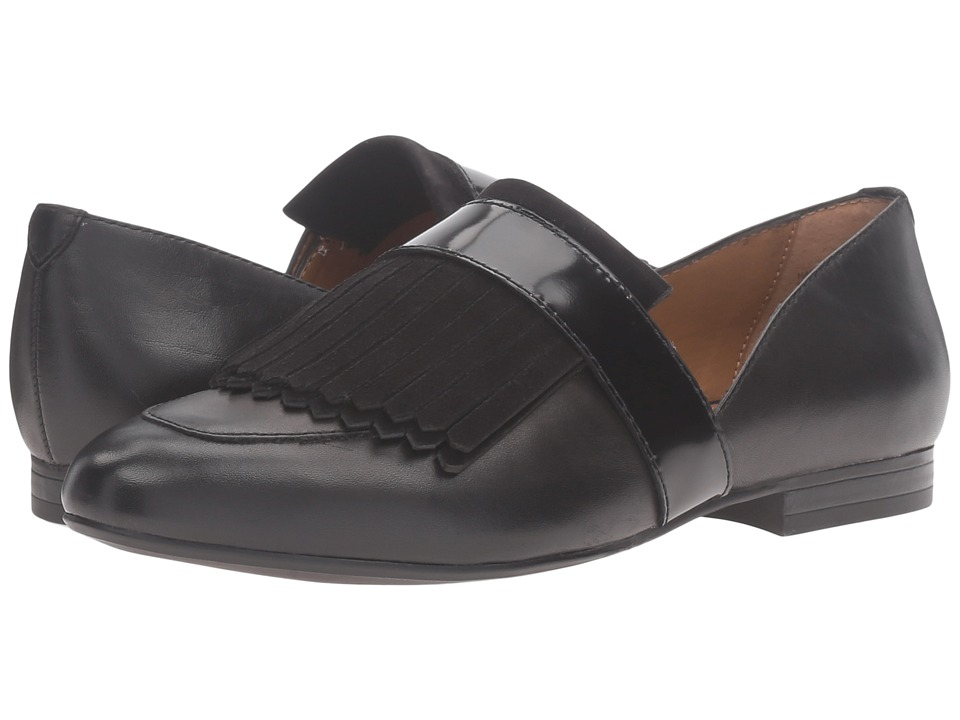 G.H. Bass & Co. Harlow (Black Leather) Women