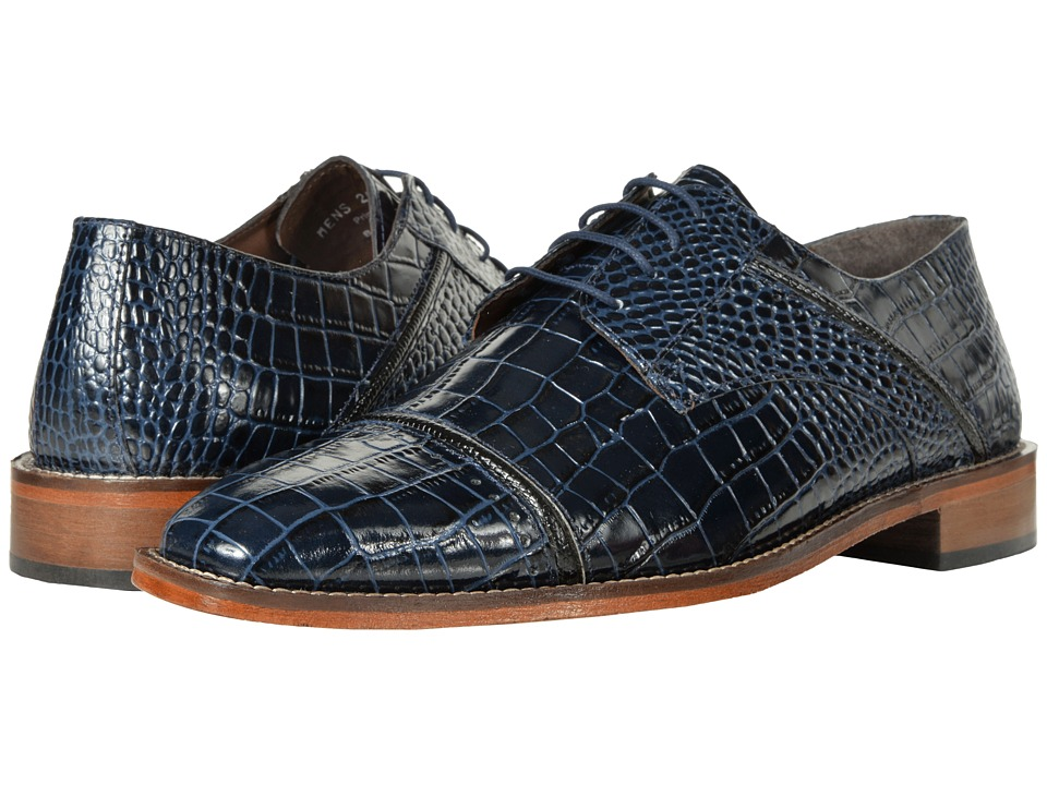 Stacy Adams Raimondo (Dark Blue/Black) Men