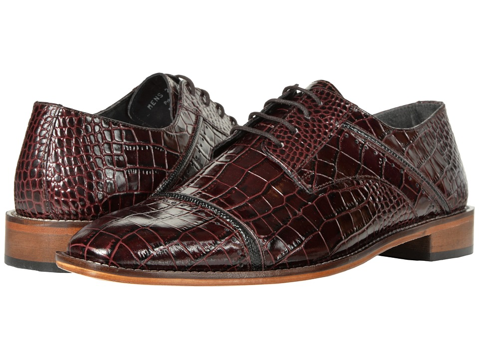 Stacy Adams Raimondo (Burgundy/Black) Men
