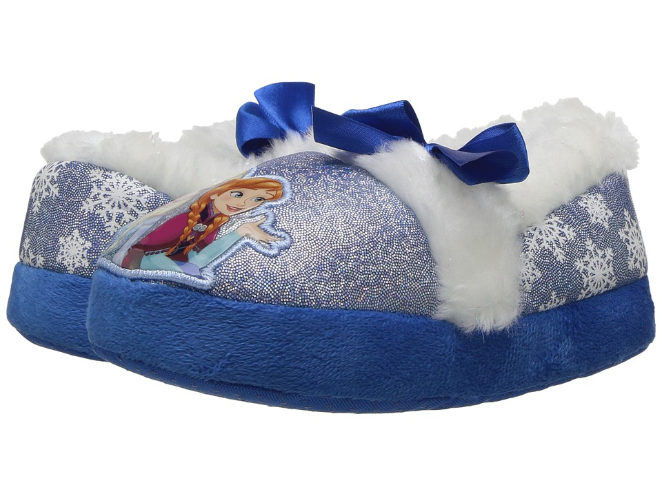 Frozen Slipper (Toddler/Little Kid) (Blue/White) Girls Shoes