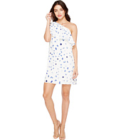 CeCe - Floating Petals Ruffled One Shoulder Dress
