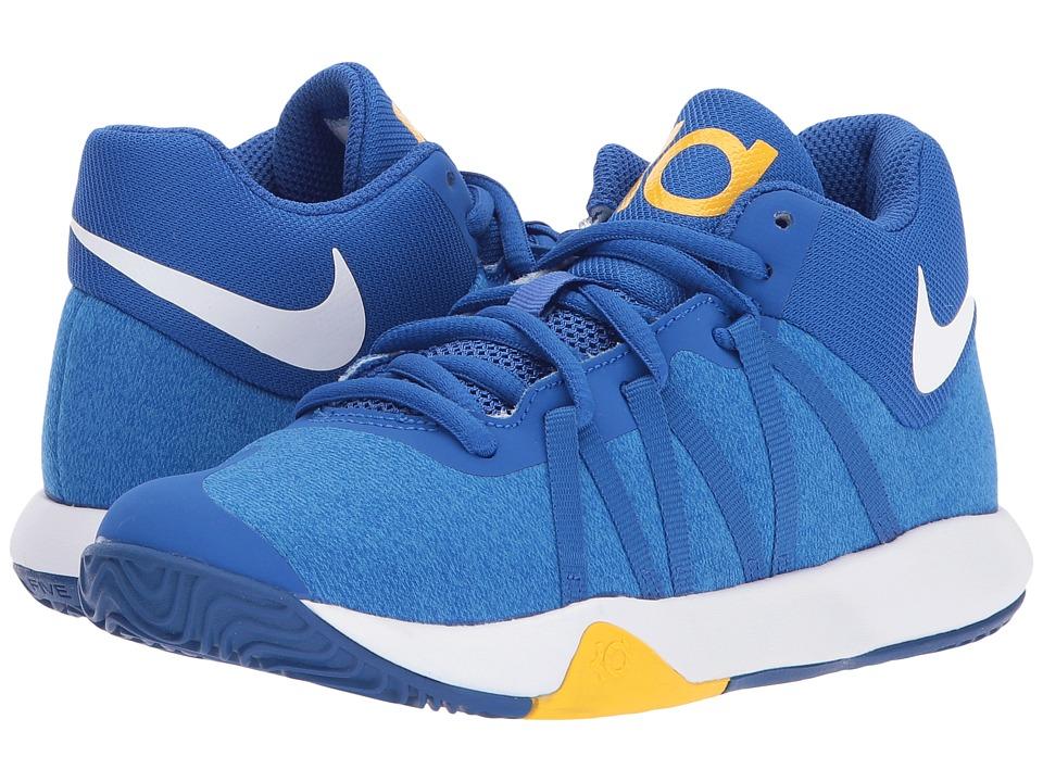Nike Kids KD Trey 5 V (Little Kid) (Royal Blue/White/University Gold) Boys Shoes