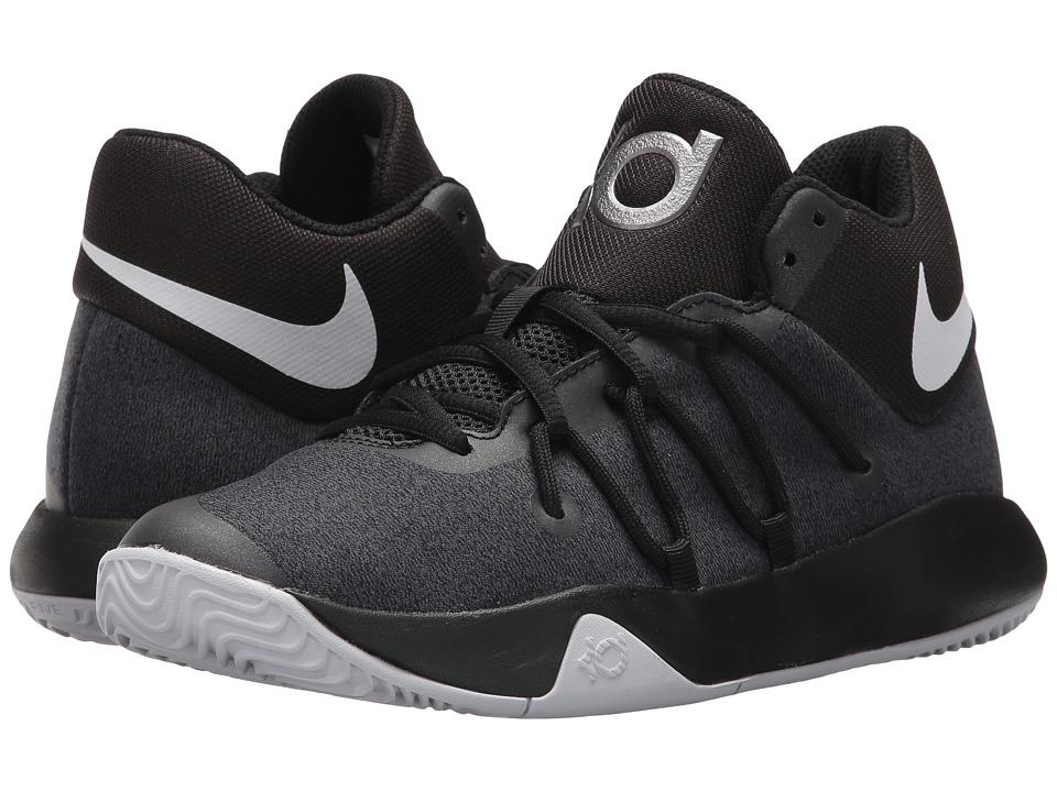 Nike Kids KD Trey 5 V (Big Kid) (Black/White) Boys Shoes