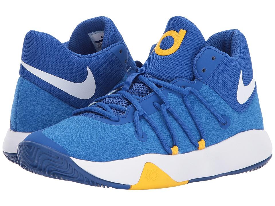 Nike Kids KD Trey 5 V (Big Kid) (Royal Blue/White/University Gold) Boys Shoes