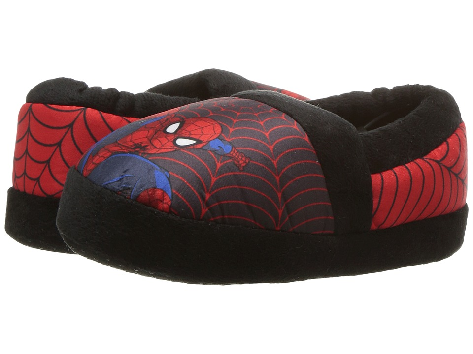 Spider-Man Slipper (Toddler/Little Kid) (Black/Red) Boys Shoes