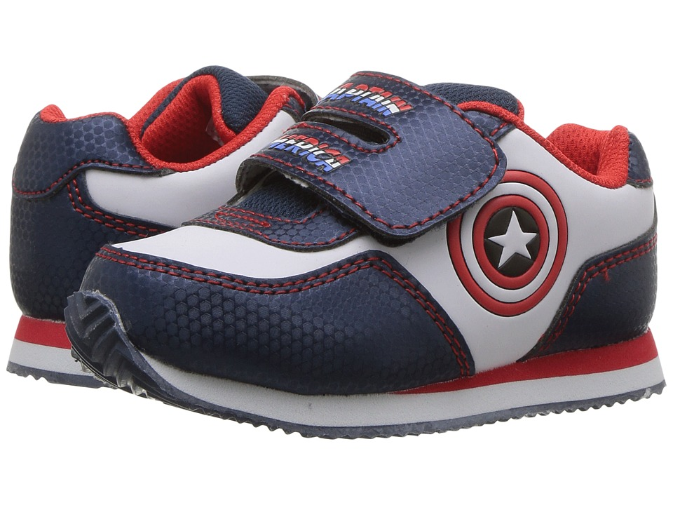 Avengers Jogger (Toddler) (Blue/White/Red) Boys Shoes