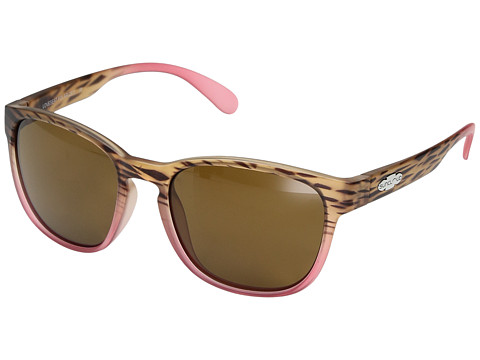 SunCloud Polarized Optics Loveseat - Matte Tortoise Pink Fade/Polarized Brown Polycarbonate Lens