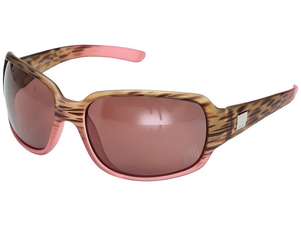 SunCloud Polarized Optics Cookie (Matte Tortoise Pink Fade/Polarized Rose Polycarbonate Lens) Sport Sunglasses