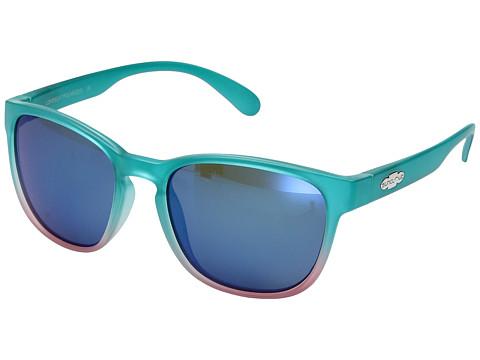 SunCloud Polarized Optics Loveseat - Aqua Pink Fade/Polarized Blue Mirror Polycarbonate Lens