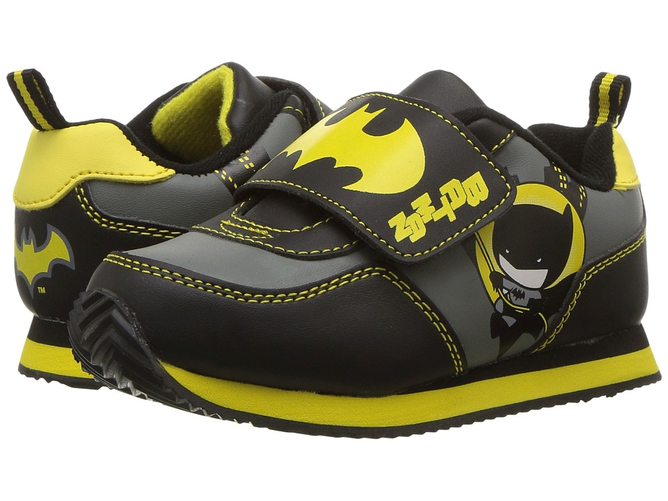 Batman Jogger (Toddler) (Grey/Black/Yellow) Boys Shoes