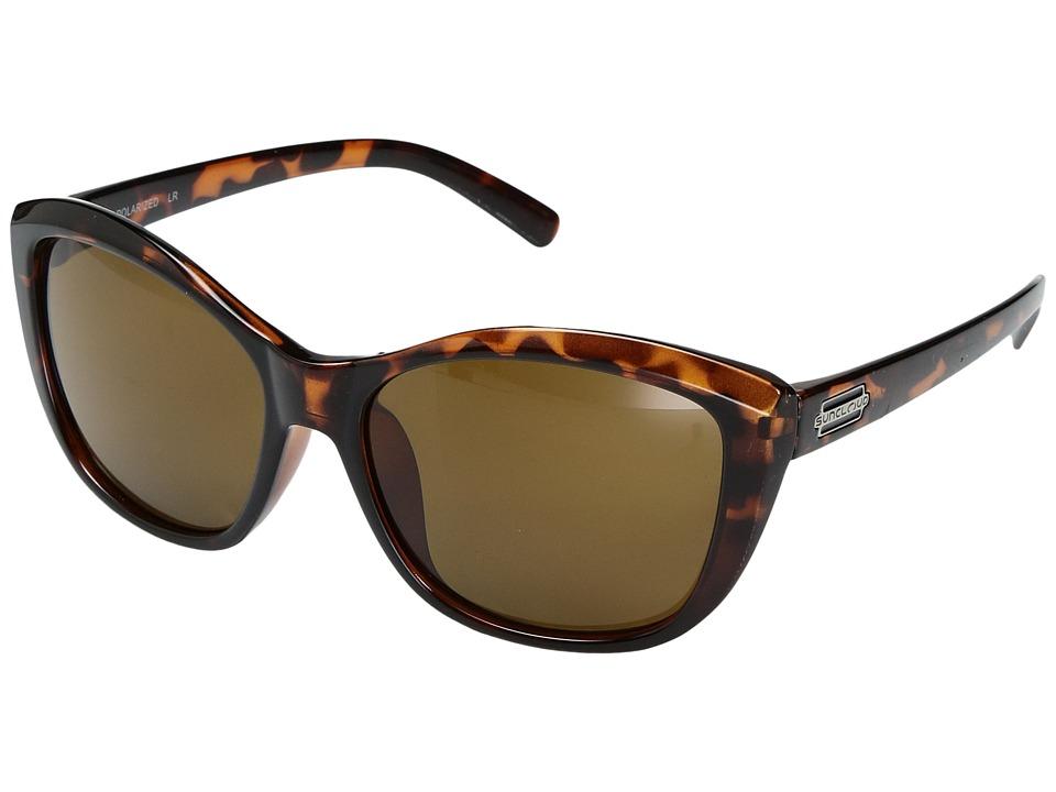 SunCloud Polarized Optics Skyline (Tortoise/Polarized Brown Polycarbonate Lens) Sport Sunglasses