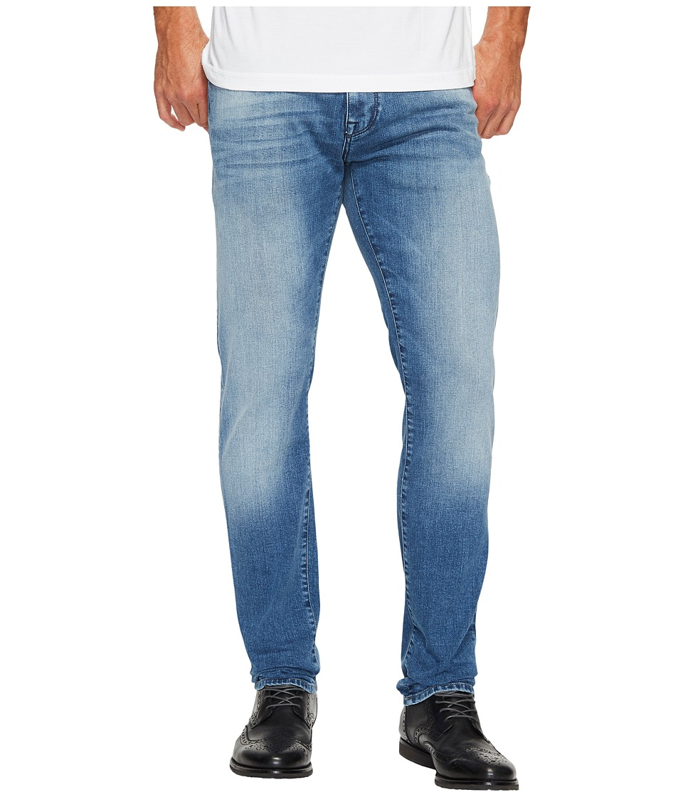 Mavi Jeans Jake Regular Rise Slim in Mid Chelsea (Mid Chelsea) Men