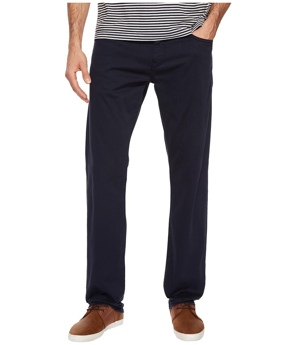 Mavi Jeans Zach Regular Rise Straight Leg in Royal Blue Twill (Royal Blue Twill) Men