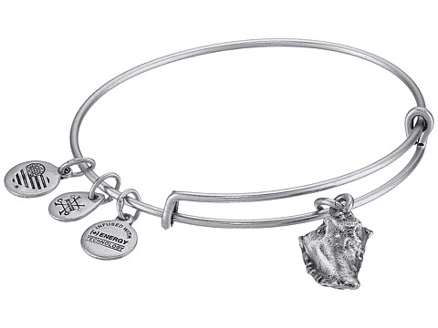 Alex and Ani Seaside Conch Shell II Bangle - Rafaelian Silver