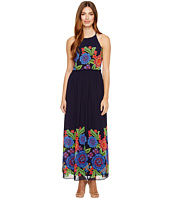 Taylor - Placed Floral Print Chiffon Maxi