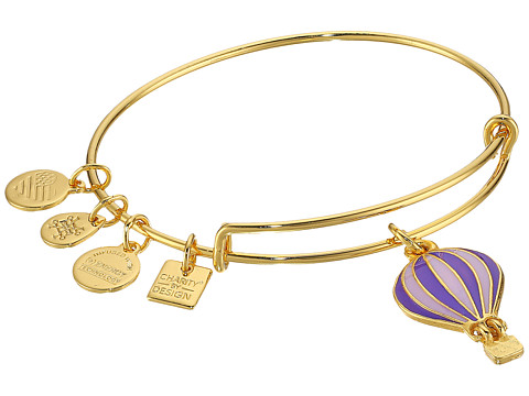 Alex and Ani Charity By Design Seaside We Rise Bangle - Shiny Gold