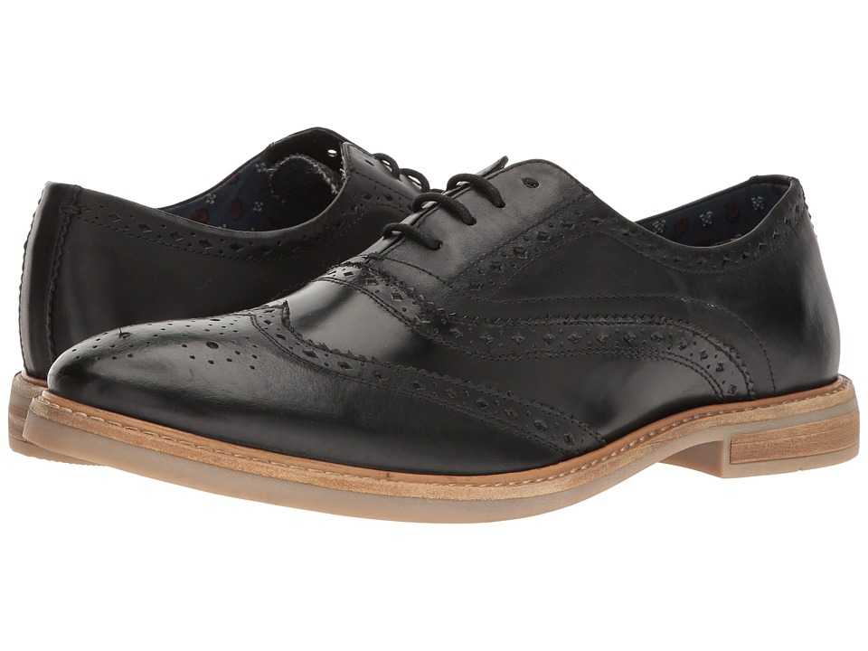 Ben Sherman Birk Wingtip (Black) Men