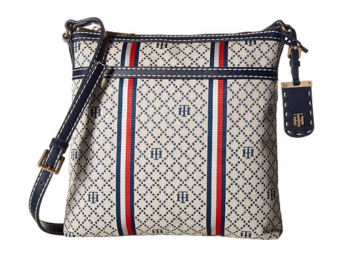 Tommy Hilfiger Julia Large Crossbody - Navy/Natural