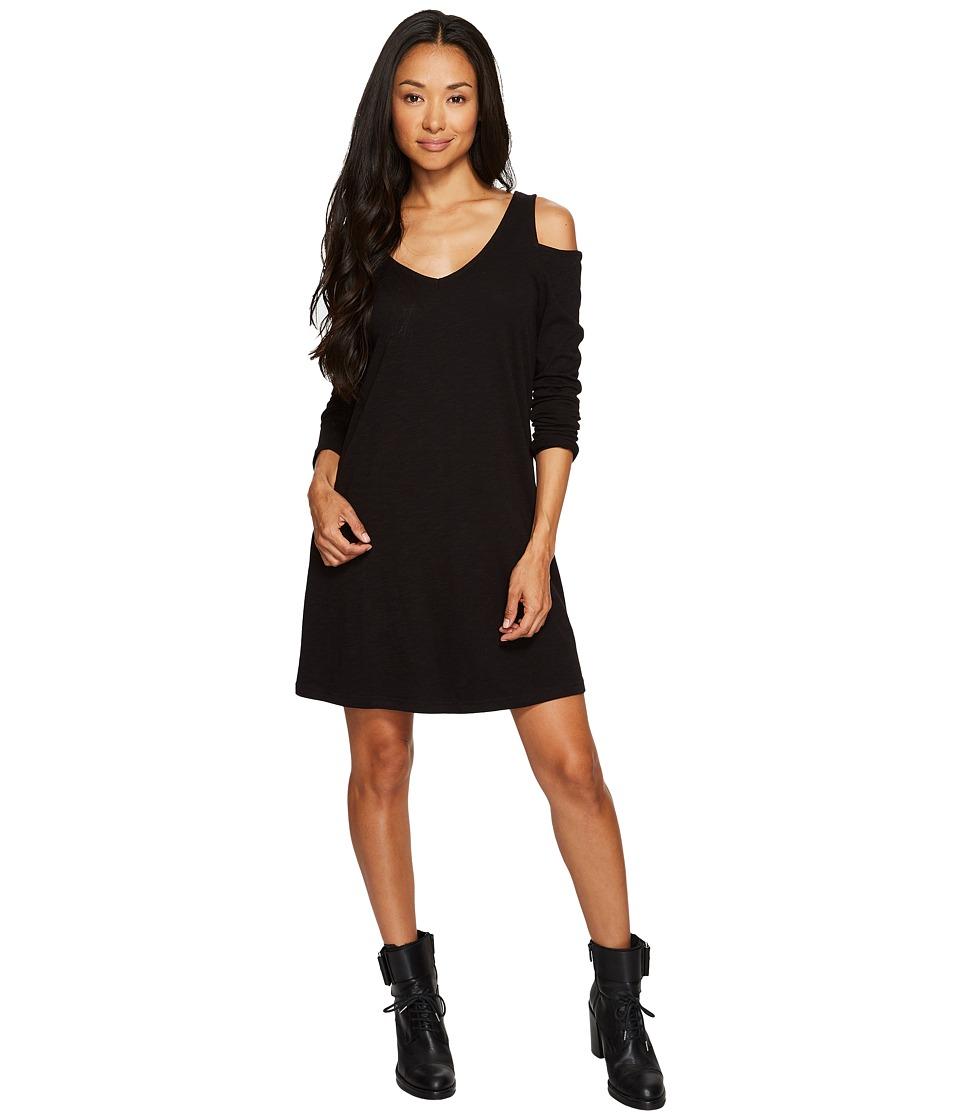 Sanctuary Morgan T-Shirt Dress (Black) Women