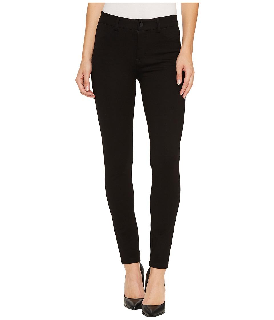Sanctuary - Ponte Robbie High Ankle Pants (Black) Womens Casual Pants
