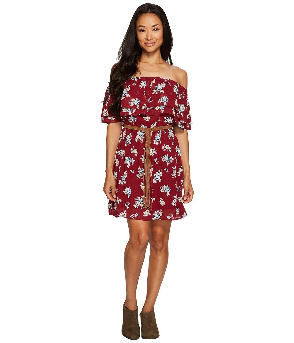 Sanctuary Skylar Dress (Prairie Roses Red) Women