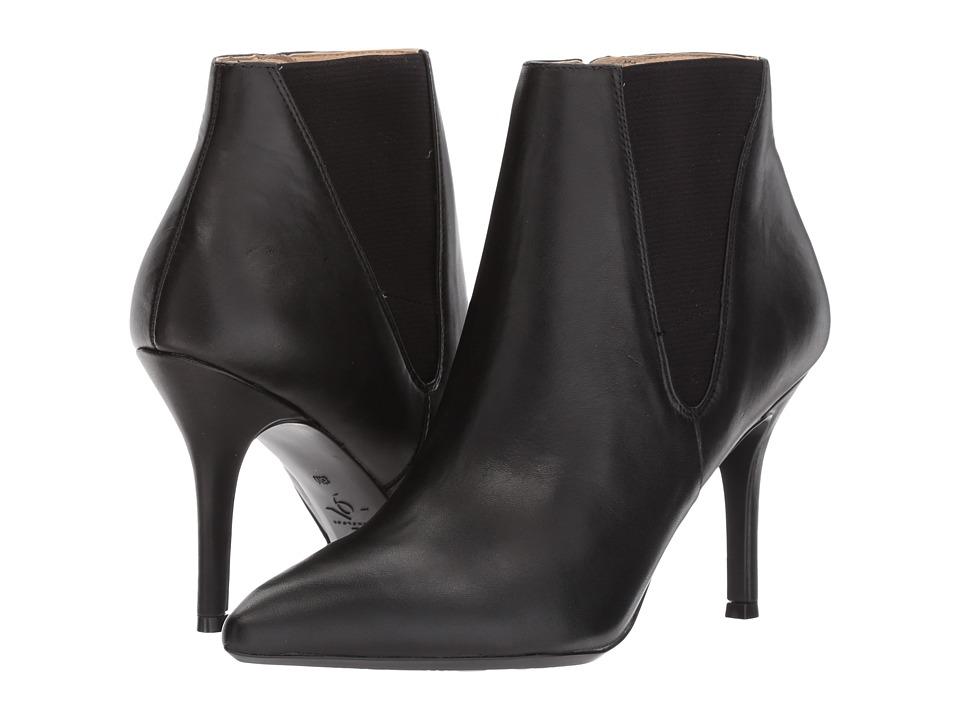 Nine West - Front9x9 (Black/Black Leather) Womens Shoes