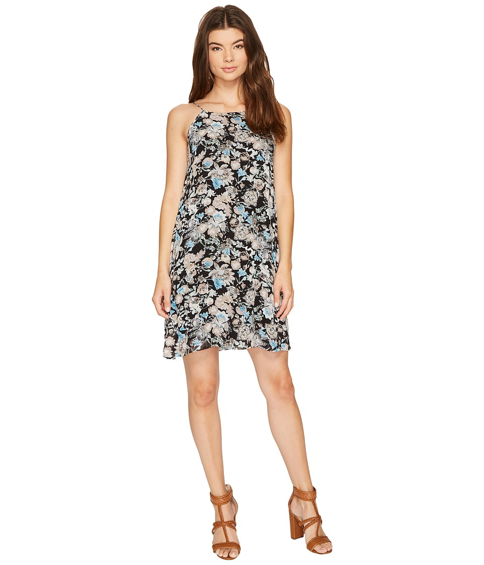 kensie Wild Garden Dress KS8K9890 (Black Combo) Women