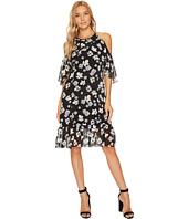 kensie - Floral Off Shoulder Halter Dress KS9K9680