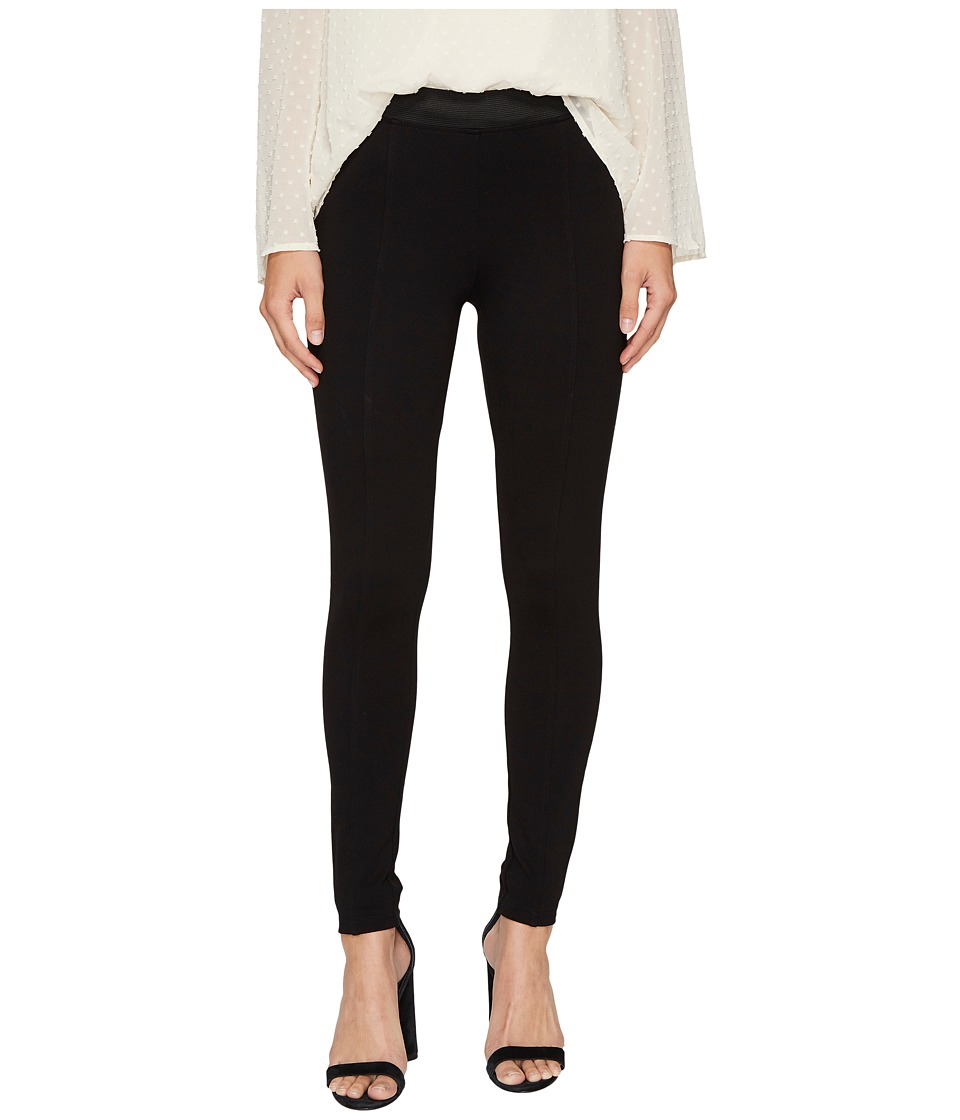 kensie Compression Ponte Pants KS8K1S85 (Black) Women