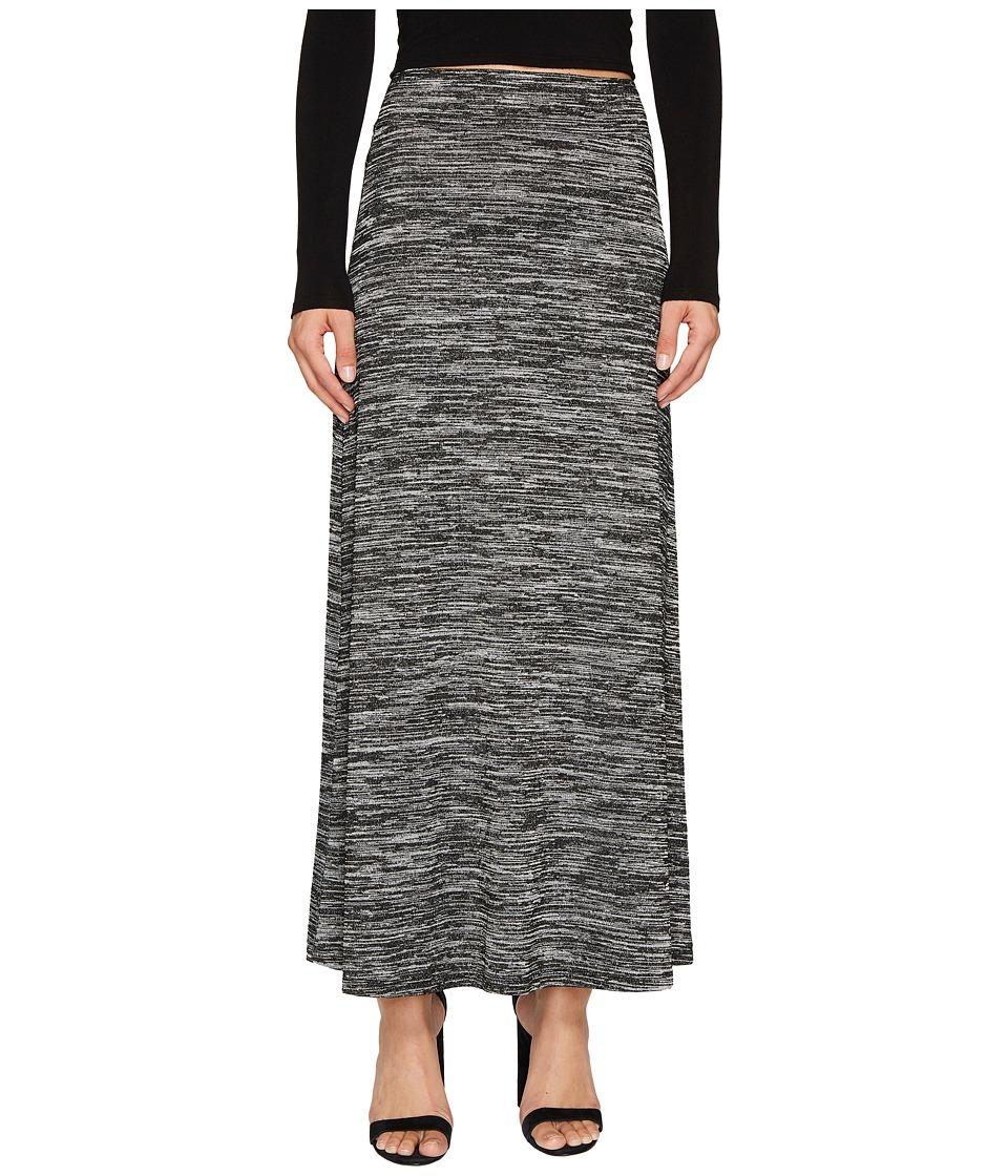 kensie - Drapey Space Dye Maxi Skirt KS8K6S40