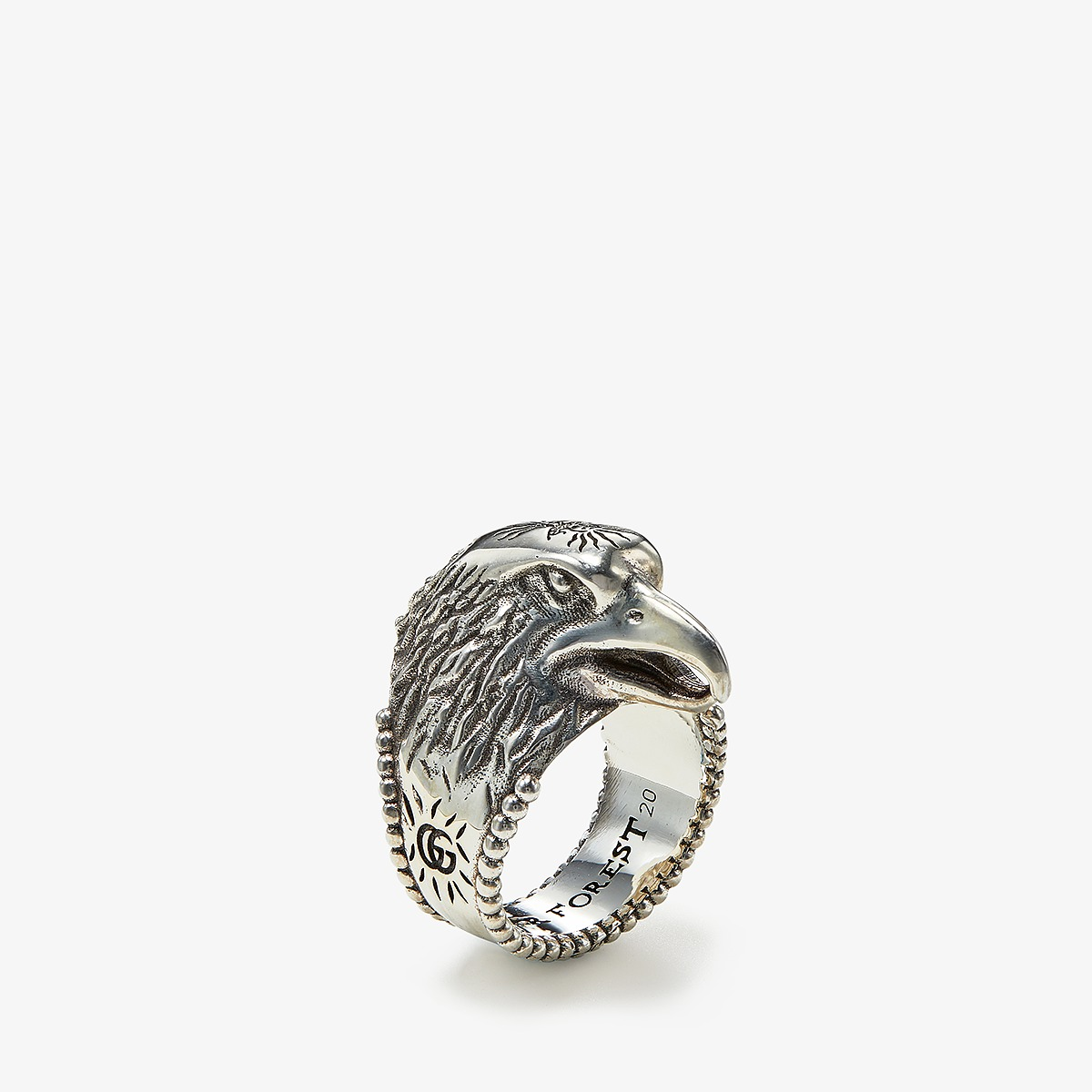 Gucci - Anger Forest Eagle Ring (Silver) Ring