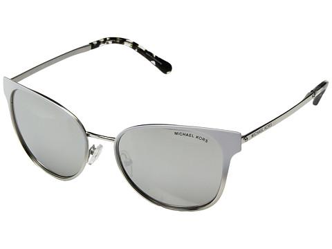 Michael Kors Tia 0MK1022 54mm - White Gradient/Silver Tone/Silver Mirror
