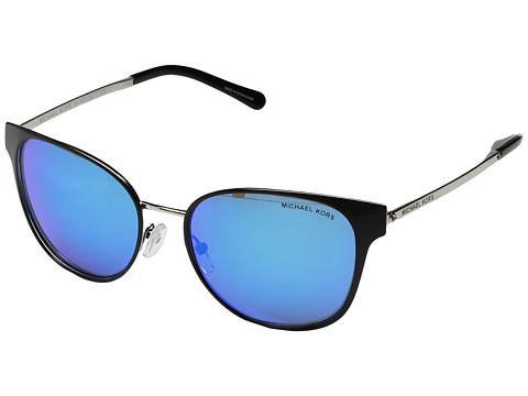 Michael Kors Tia 0MK1022 54mm - Black/Silver/Cobalt Mirror