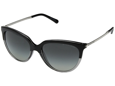 Michael Kors Sue 0MK2051 55mm - Black/Transparent/Grey Gradient