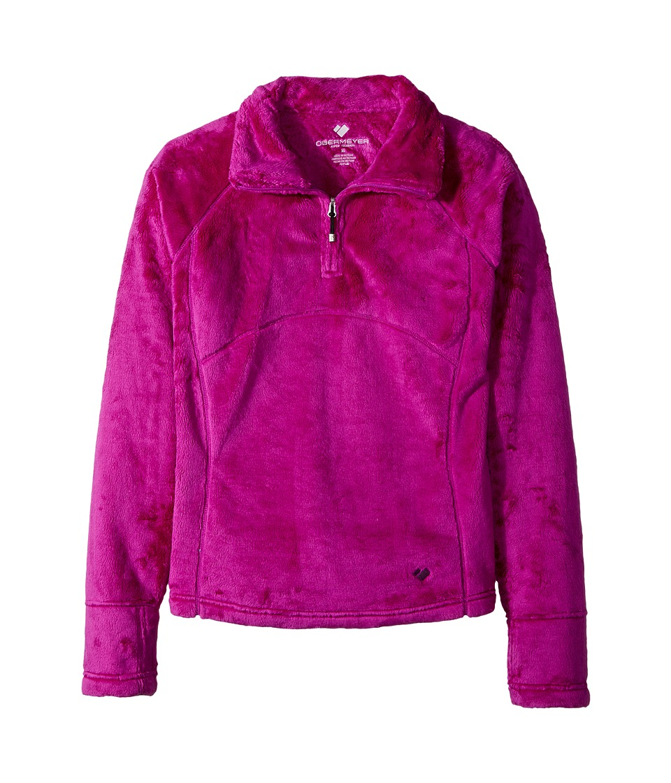 Obermeyer Kids - Furry Fleece Top (Big Kids) (Violet Vibe) Girls Sweatshirt