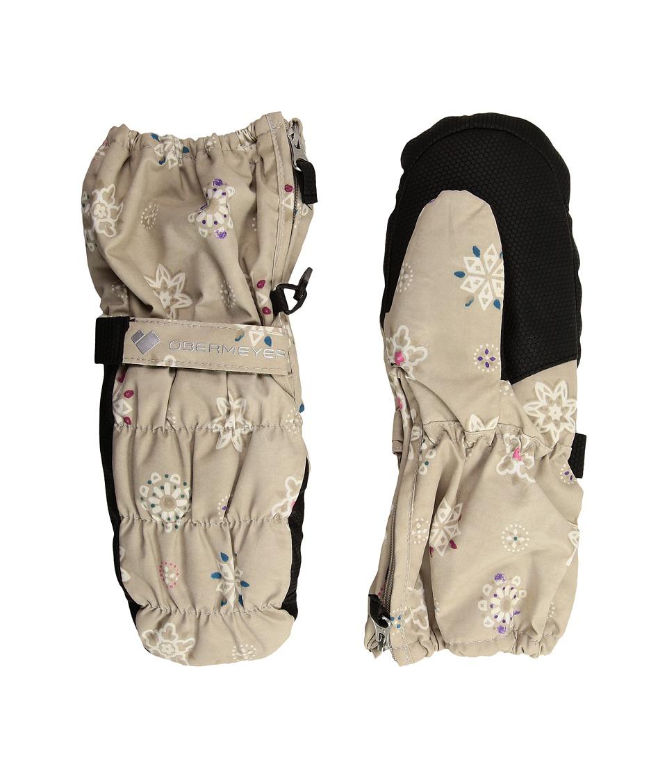Obermeyer Kids Puffy Mitt (Toddler/Little Kids) (Frost Crystals) Dress Gloves