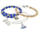 Alex and Ani Seaside Sailboat Bracelet Set of 3