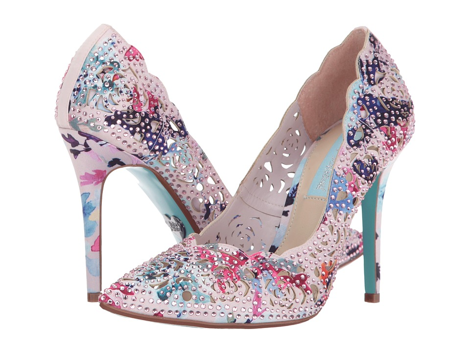 Blue by Betsey Johnson Elsa (Blush Multi) High Heels