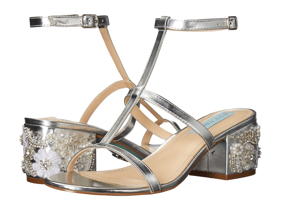 Blue by Betsey Johnson Lissa (Silver Metallic) Women