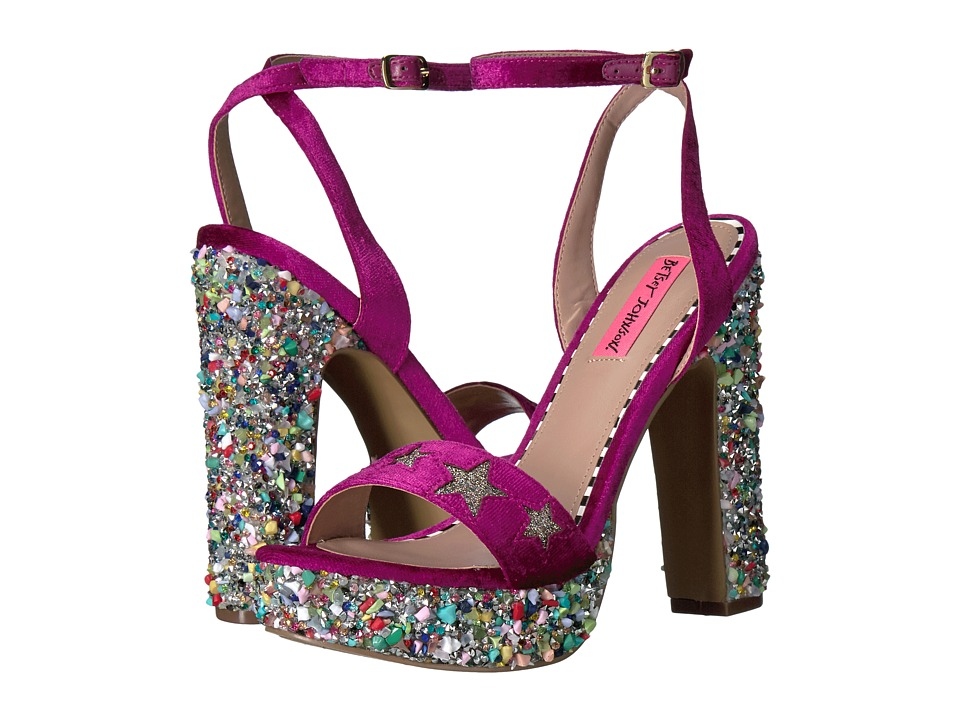 Blue by Betsey Johnson Kenna (Magenta Multi) High Heels