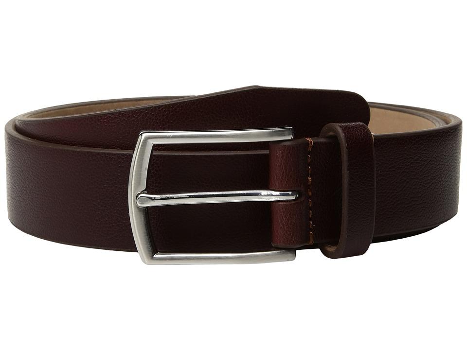 Image of Allen Edmonds - Bayview Ave (Oxblood) Men's Belts