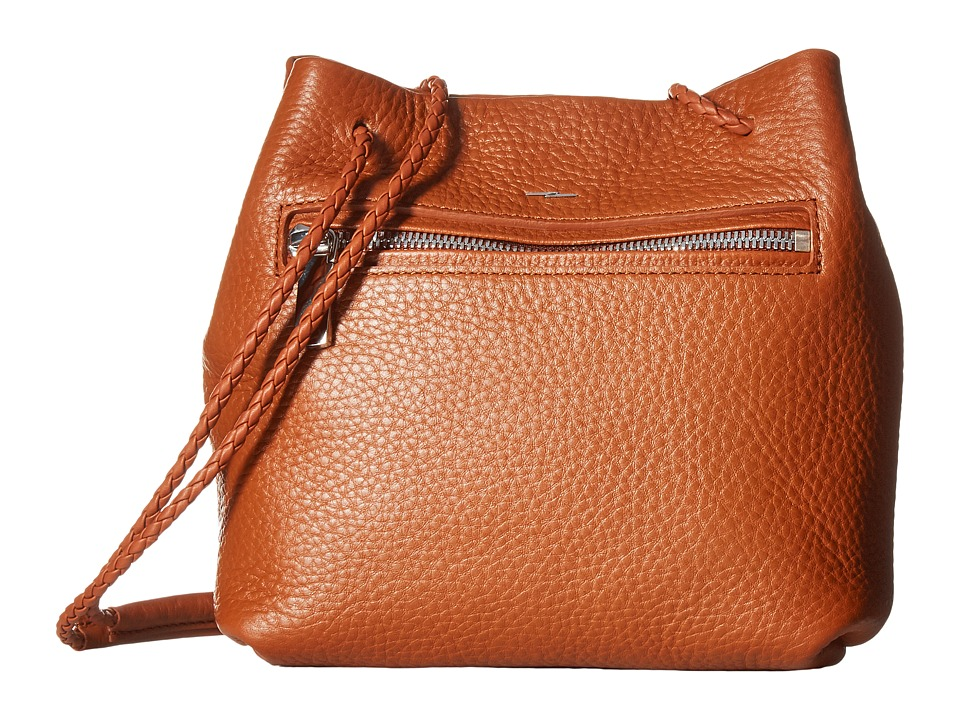 Shinola Detroit - Nappa Mini Drawstring (Bourbon) Drawstr...