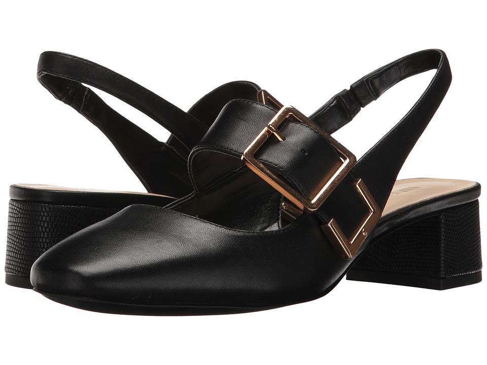Nine West - Wendor (Black Leather) Women's Shoes
