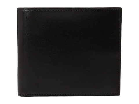 Bosca Old Leather Collection - Eight-Pocket Deluxe Executive Wallet w/ Passcase - Black