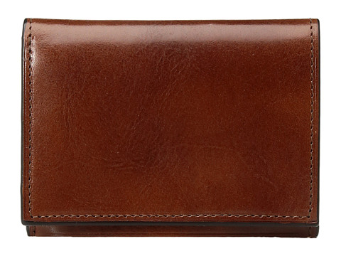 Bosca Old Leather Collection - Double I.D. Trifold - Amber