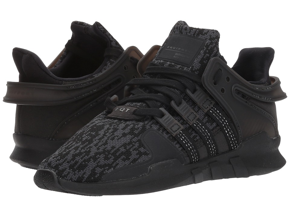 adidas Originals Kids EQT Support ADV (Little Kid) (Black) Kids Shoes