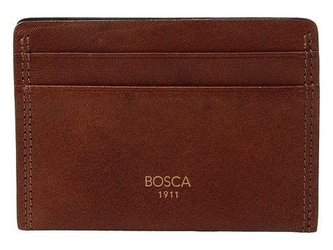 Bosca Dolce Collection - Weekend Wallet - Amber