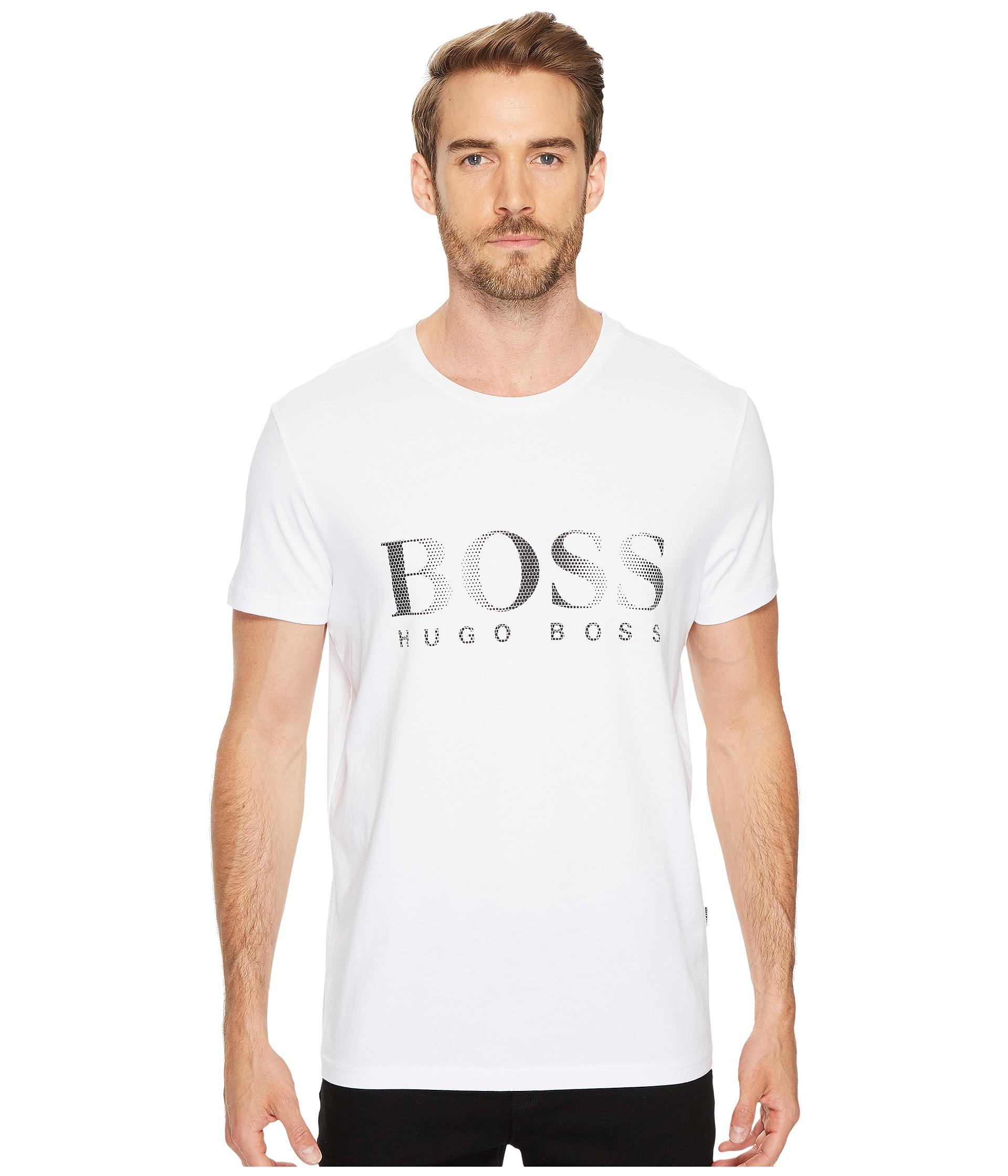 boss hugo boss t shirt round neck 10144419 at. Black Bedroom Furniture Sets. Home Design Ideas