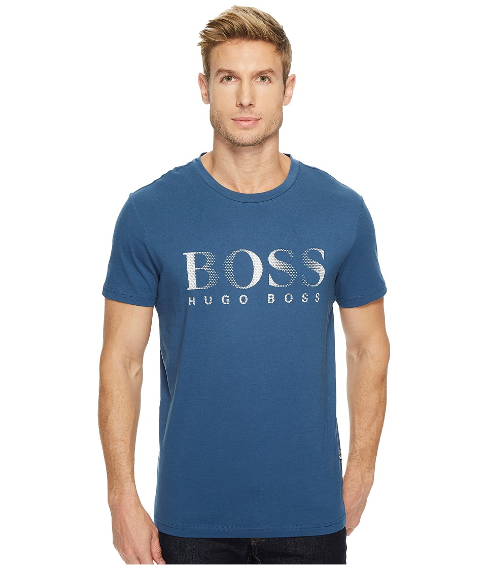 BOSS Hugo Boss T-Shirt Round Neck 10144419 (Navy) Men